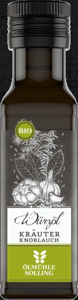Kräuter Knoblauch Würzöl EG-Bio
